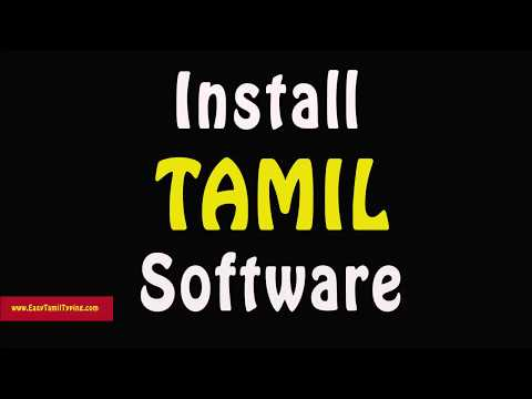tamil font for ms word 2010 free download