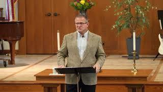 Live By Faith Not By Fear - Tony Myers 9-20-20