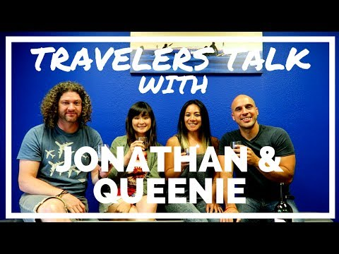 Travelers Talk with Jonathan & Queenie Part 1