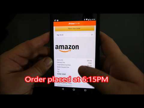 Amazon Prime Now San Diego FREE 2 Hour Delivery