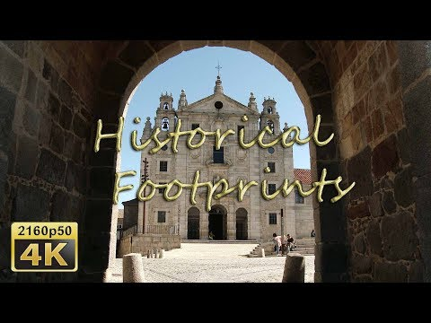 Avila,  Santa Teresa de Jesús  and Palacio de Polentinos - Spain 4K Travel Channel