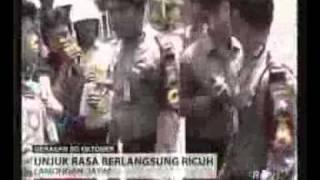 Peringatan satu tahun pemerintahan SBY-Boediono.flv