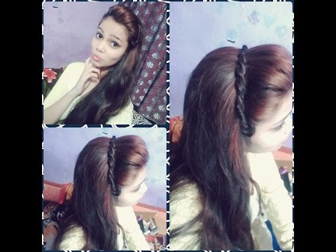 New Side Puff Hairstyle Every Day Hairstyle Youtube