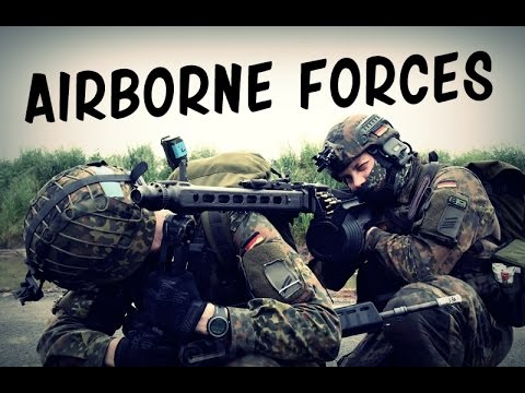 Paratroopers - Airborne Forces (USA, UK, Germany) | Military Tribute 2016 HD