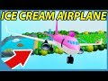 Spending 100 Billion Dollars To Get The Airplane in Roblox Ice Cream Van Simulator