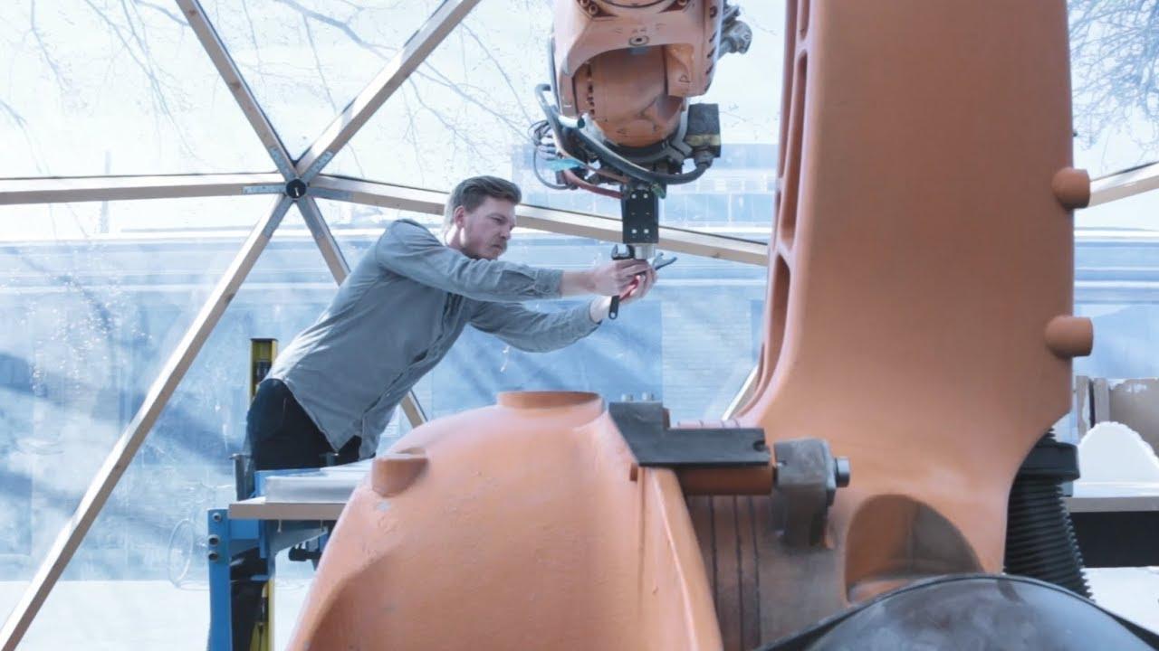 Et møde mellem robot og arkitektur hos Jacob Hilmer Architecture