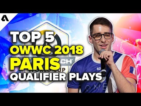 Top 5 Overwatch World Cup Paris Qualifier Plays | OWWC 2018 thumbnail