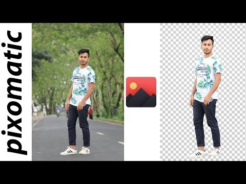 Easily remove photo background by PIXOMATIC PRO full unlocked apps 2018