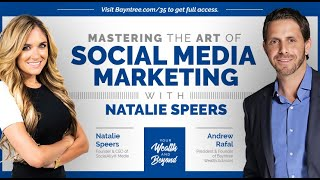 Episode 035: Mastering the Art of Social Media Marketing with Natalie Speers