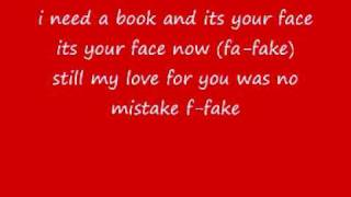 Simply Red Fake with lyrics