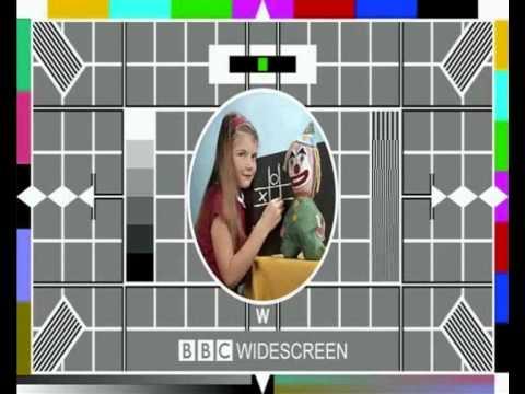 widescreen BBC TESTCARD