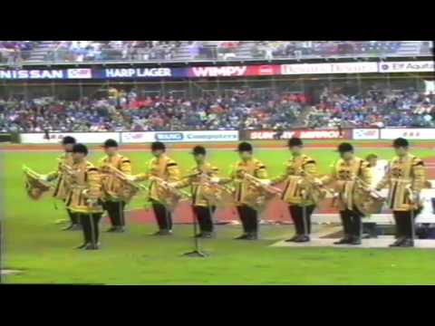 1986 Commonwealth Games Closing Ceremony