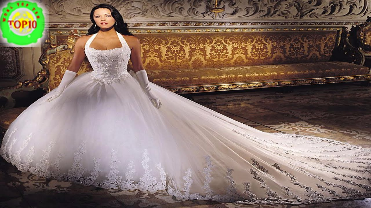 Top 10 Most Expensive Wedding Dress in the World - YouTube