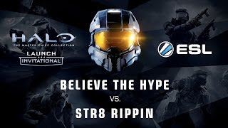 Str8 Rippin vs. Believe the Hype - Finals 1/2 - Launch Invitational - Halo: Master Chief Collection