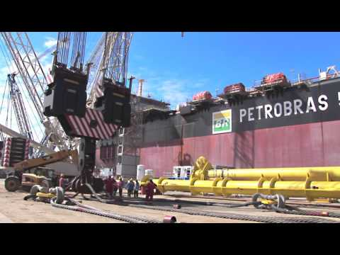 Mammoet - Lifting Petrobras site - Rio Grande, Brazil (2012)