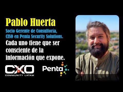 #Entrevista a Pablo Huerta (Penta): Cada uno tiene que ser consciente de la información que expone