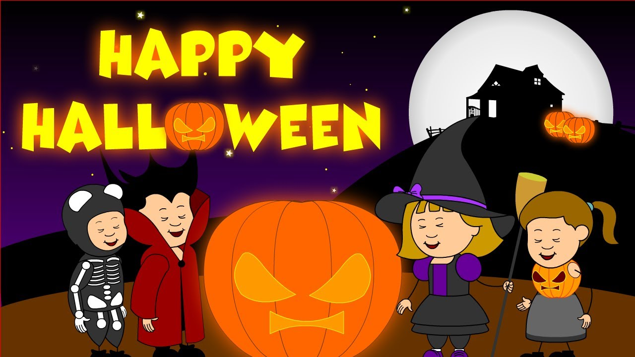 happy halloween kids youtube - Happy Halloween Cartoon Pics