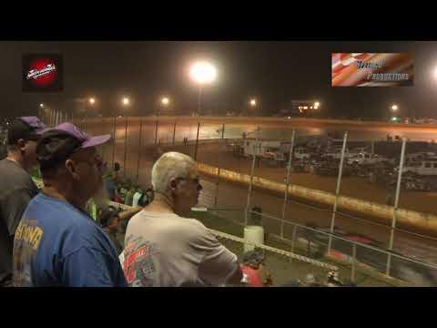 Schaeffer's Oil Fall Nationals Heats, B Mains, and feature North Georgia Speedway 08/17/2019
