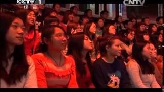 20140329 开讲啦 王刚:每一次转角 都是命运