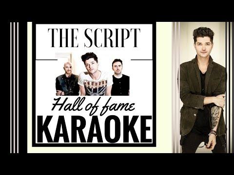 The Script- Hall Of Fame-Karaoke (HD)