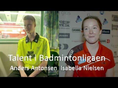 Talent i Badmintonligaen - Bella og Antonsen