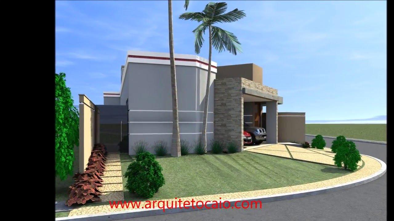 Projeto casa esquina 3 quartos suite terreno canto for Casa moderna 2 andares 3 quartos