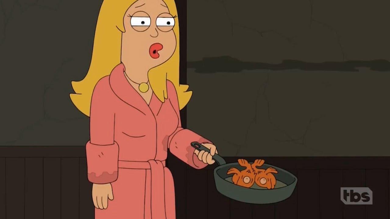 American Dad Francine Eats Klaus Youtube