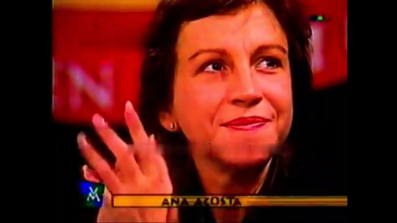 Videomatch - Cámaras en programas de TV 59 - Ana Acosta (España en el mundo) - Sin interrupciones