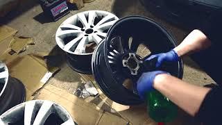 Renovácia alu diskov - Opel Vectra B