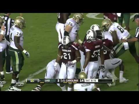 South Carolina vs UAB 2012