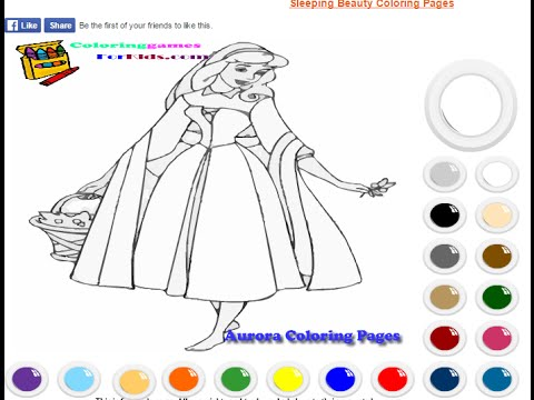 Disney Princess Coloring Pages For Kids Disney Princess Coloring