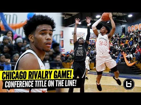 Chicago Rivalry Game Decides Conference Title! Tyler Beard 28 Points! Whitney Young vs Orr!