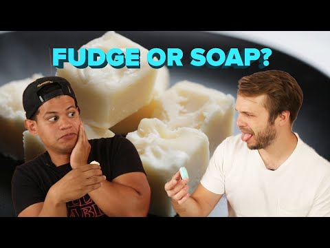 Is This Food Or Something Else?: Fudge or Soap