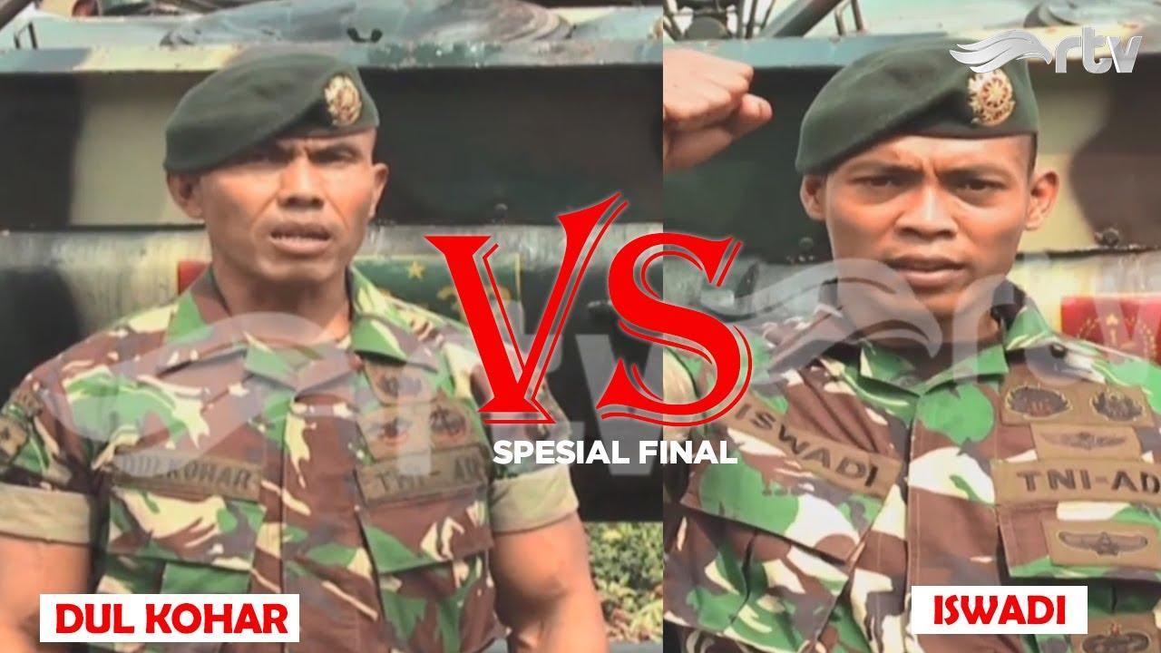 TNI AD bertemu di babak Final. Dulkohar melawan Iswadi, siapakah yang lebih kuat?