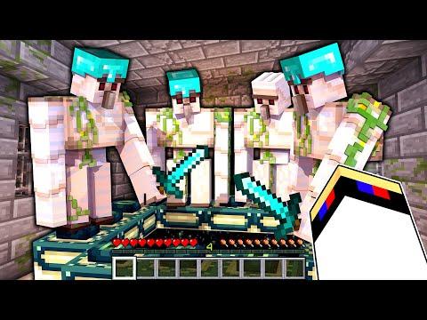 Майнкрафт но Големы Проходят Майнкрафт За Тебя в Майнкрафте Троллинг Ловушка Minecraft