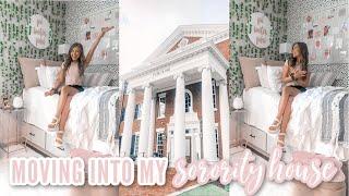 Moving Into My Sorority House! | Pi Beta Phi | The University of Alabama