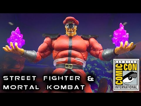Street Fighter & Mortal Kombat Reveals from SDCC 2016