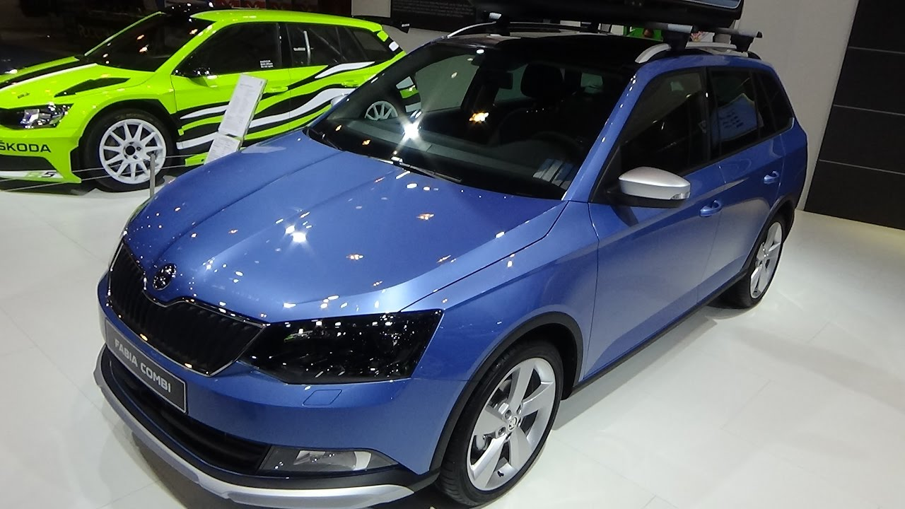 2017 skoda fabia combi scoutline 1 2 tsi exterior and interior essen motor show 2016 youtube. Black Bedroom Furniture Sets. Home Design Ideas