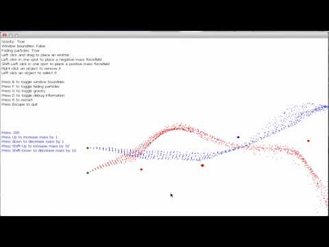 XNA Particle Engine Test In OS X Using MonoGame