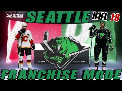 NHL 18: Seattle Franchise Mode #30