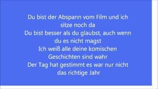 Prinz Pi - Du Bist Lyrics (HQ)