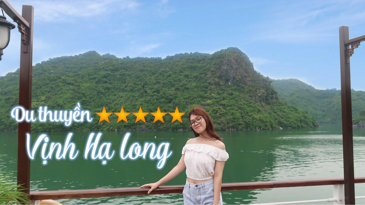 [Full] Trải Nghiệm DU THUYỀN 5 SAO Tại VỊNH HẠ LONG | Tố đây! Travel Vlog