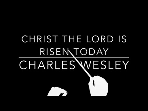 Christ the Lord is Risen Today - Charles Wesley - Orchestral Karaoke - Sing Along - Cover Lyrics