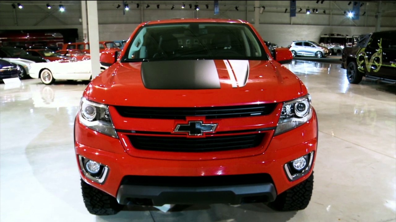 2016 Chevrolet Colorado Z71 Trail Boss 3.0 Edition Concept ...