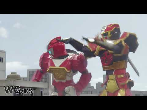 Power Rangers Ninja Steel Red Growth