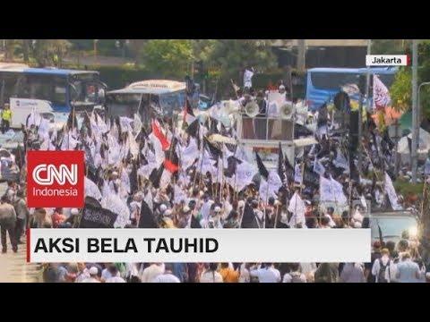 Massa Aksi Bela Tauhid Berdatangan