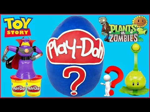 MYSTERY EGG GIANT PLAY DOH SURPRISE EGG ???