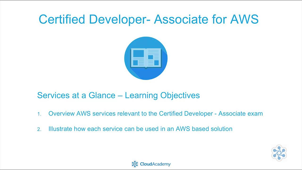 Certified Developer For Aws Foundations Youtube