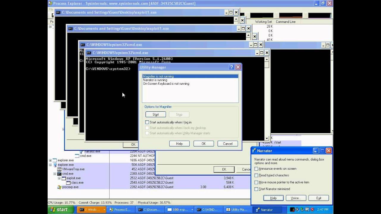 windows xp cmd.exe location