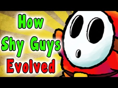 Evolution Of The Shy Guy (1988 - 2017)